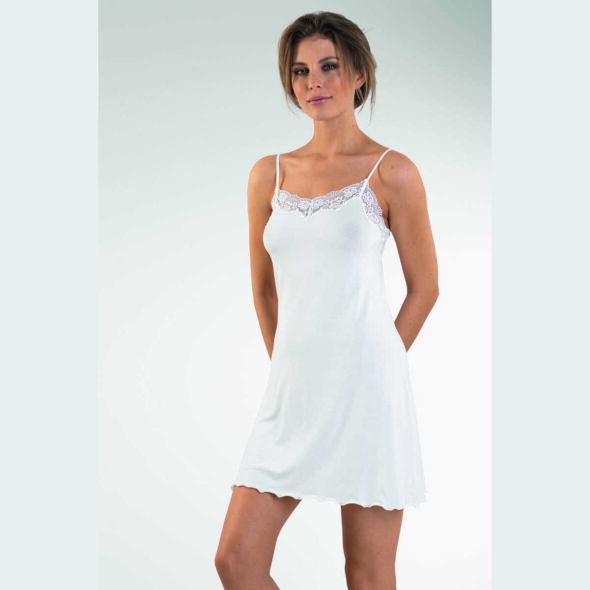 NVC Koszulka wąskie ramiączka Romance kolor Biały 16421648